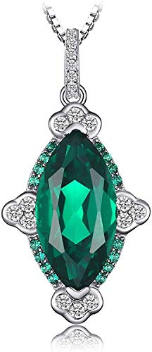 necklace Ladies fashion Create pink sapphire truly red gallies nano Russian simulation jade pendant 925 sterling silver 18 inches, gem type: Marquis Mrs. Russia simulation jade Hoisting