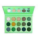 AtheMeet 1 unid 15 Color Paleta de Sombras de Ojos Four Seasons Maquillaje Paleta Paleta de Sombras de Ojos Matte Paleta para maquilladores o Maquillaje Diario Verde