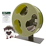 Exotic Nutrition Silent Runner 12' Wide + Cage Attachment - Silent, Fast, Durable Exercise Wheel - Sugar Gliders, Degus, Rats, Hedgehogs, Prairie Dogs & Small Pets