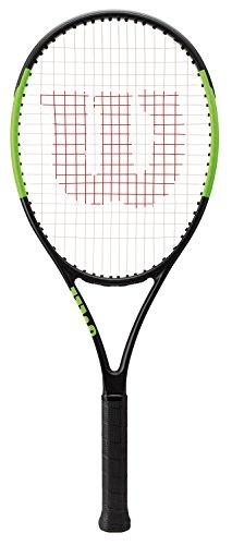 Wilson WRT533600 Junior Tennisschläger, Blade 25, für Junioren 145 cm (4 ft 9 Zoll) oder höher, schwarz / grün