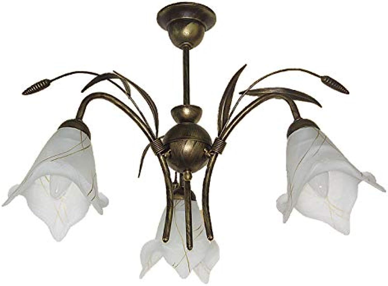 NEU Deckenlampe Deckenleuchte Korn 212 3 Lampe Leuchte Top Design 3 flammig