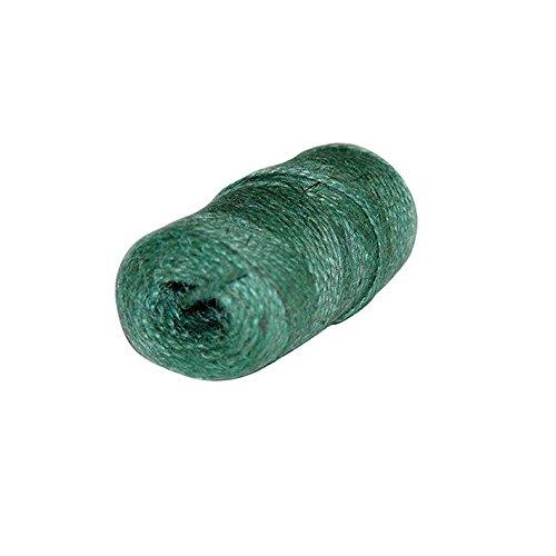 Xclou Corde de jute pour le jardin - Bobine de ficelle en jute verte - Rouleau de corde en jute 70 m pour le tuteurage