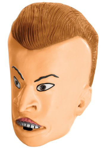 MTV Beavis and Butt-Head Adult Butt-Head Mask, Multicolored, One Size