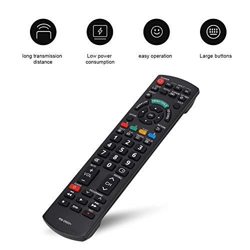 Smart TV-afstandsbediening, LCD Universele tv-afstandsbediening TV-controller Ergonomie TV-afstandsbediening Vervanging voor Panasonic N2QAYB000487 N2QAYB000572 EUR7628030 EUR7628010