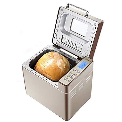 FYLD broodbakmachine, broodmaat en korst instelbaar, 25 automatische programma's, programma voor glutenvrij brood, incl. timer