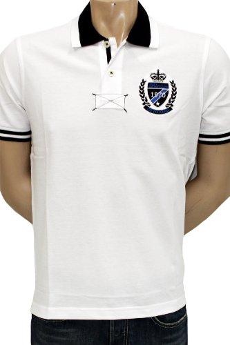 OTTO KERN Fein-Piqué Polo-Shirt Weiss in XXL