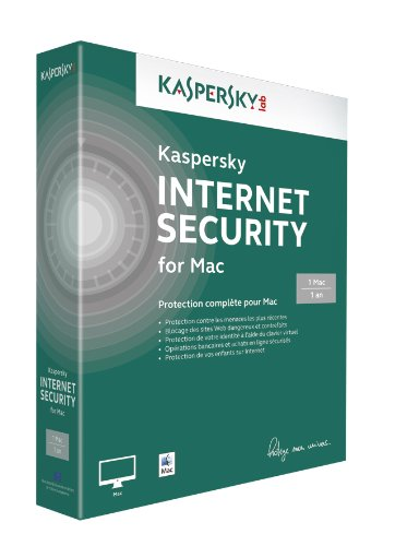Kaspersky internet security 2014 (1 poste, 1 an) for Mac