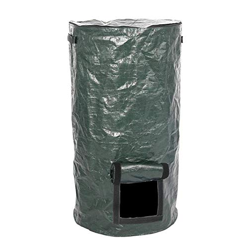 Amazing Deal Chengbao Garden Trash Can Garden Waste Bags PE Compost Bag Vegetable Grow Bag Patio Sta...