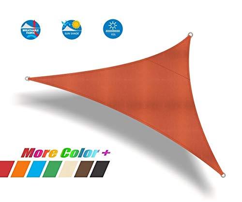 JIANFEI zonwering net zon schaduw doek waterdichte driehoek polyester schaduw Rate: 100%, 13 maten,3 kleuren