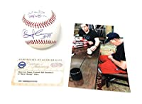 Charlie Sheen Ricky Vaughn Major League The Movie Signed Autograph Official MLB Baseball INSCRIBED WILD THING Steiner Sports Certified