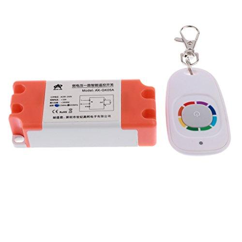 Sharplace Commutateur De Relais Récepteur De Télécommande Transmetteur Clé sans Fils Émetteur 433mhz