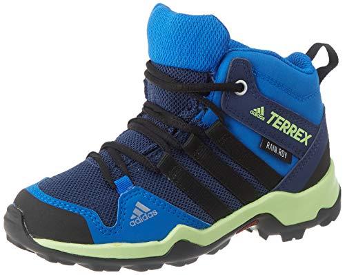adidas Terrex Ax2r Mid CP K, Zapatillas para Carreras de montaña Unisex Adulto, Collegiate Navy/Core Black/Glory Blue, 39 1/3 EU
