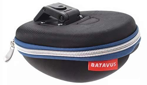 BATAVUS saddlebag mit Inhalt klick 18 x 13 x 5,5 cm schwarz