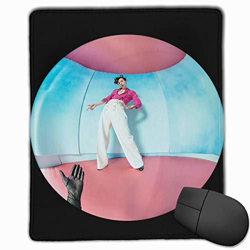 Overlocking Thickening Design Comfortable Feel Mouse Pad (11.8 in × 9.8 in)