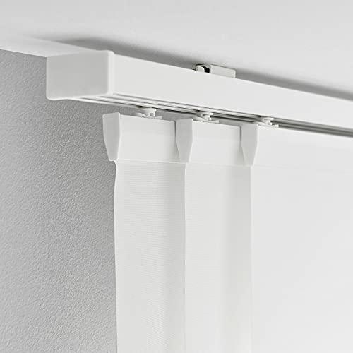 Ikea VIDGA Gardinenschiene in weiß; 3-läufig; (140cm)