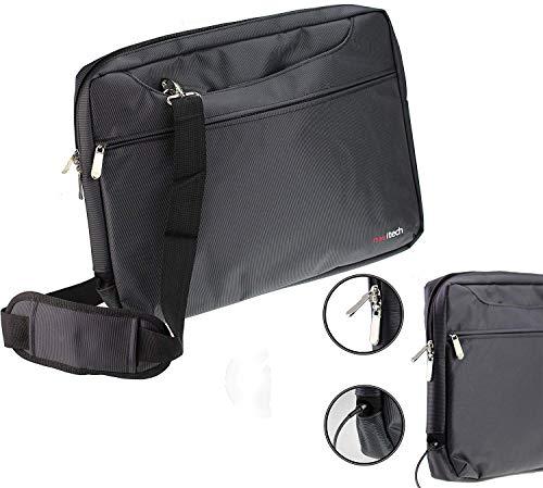 Navitech Schwarz Hülle/Cover Trage Tasche für das Dell Inspiron 15 5000
