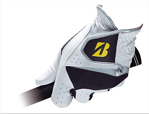 Bridgestone GLG81JWK21 Gants de golf pour homme Blanc/noir...