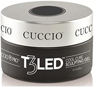 Cuccio Pro - T3 LED/UV Controlled Leveling Gel - Opaque Welsh Rose - 1oz / 28g