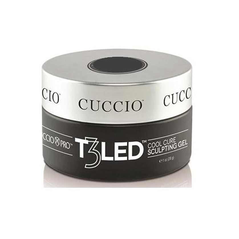 人工的な必要雷雨Cuccio Pro - T3 LED/UV Controlled Leveling Gel - Opaque Welsh Rose - 1oz / 28g