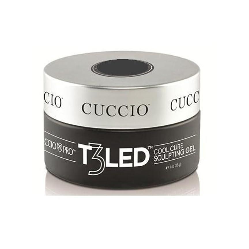 クリーム私たちのものフェッチCuccio Pro - T3 LED/UV Controlled Leveling Gel - Opaque Welsh Rose - 1oz / 28g
