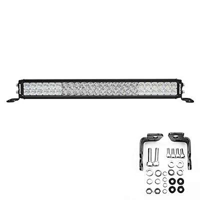SYLVANIA - Ultra 20 Inch LED Light Bar - Lifetime Limited Warranty - Combo Beam Light 9120 Raw Lumens, Off Road Driving Work Light, Truck, Car, Boat, ATV, UTV, SUV, 4x4 (1 PC)