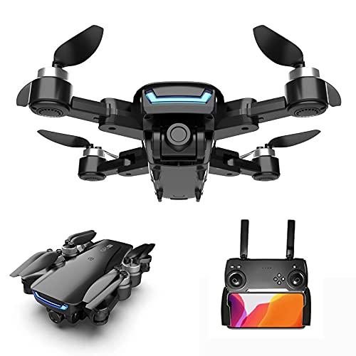 GZTYLQQ Mini Drone con videocamera HD 4K, Trasmissione in Tempo Reale FPV WiFi 5G, Selfie con gesti, Mantenimento dell'altitudine, 360 Gradi;Quadcopte Pieghevole per riprese Surround per Adulti, ba