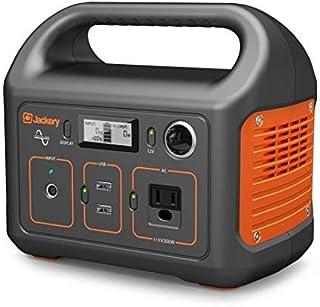 Jackery Generador de estación de energía portátil Explorer 240, 240 Wh batería de litio de repuesto de emergencia, 110 V /...