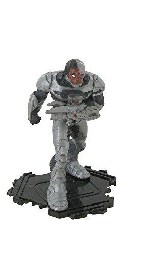 Figuras de la liga de la justicia – Figura Cyborg - 9 cm - DC comics