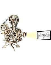 ROKR Puzzle Bois 3D Vitascope pour Adultes Enfants de Plus 14 Ans Maquette en Bois a Construire Cadeau de Kit 183 Pièces, Vitascope