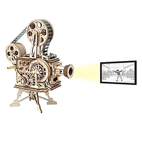 ROKR Rompecabezas Puzzles Madera 3D Vitascope para Adultos Niños Mayores de 14 Años Maquetas para Montar Bricolaje 183 Piezas, Vitascope