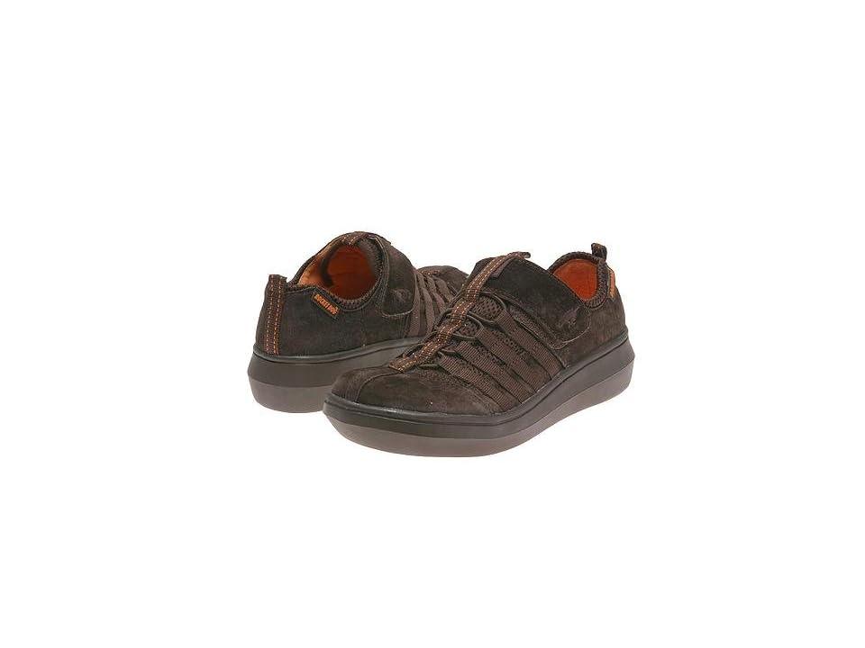Rocket Dog Stoker (Dark Brown Nubuck) Women's Slip on Shoes