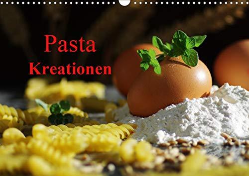 Pasta KreationenCH-Version (Wandkalender 2021 DIN A3 quer)
