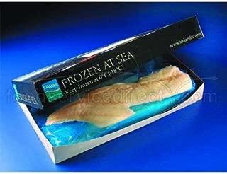 Frozen At Sea Cod Face Fillet, 32 Ounce of 24 Pieces Per Bag, 12 Pound -- 4 per case.