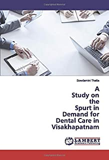 A Study on the Spurt in Demand for Dental Care in Visakhapatnam