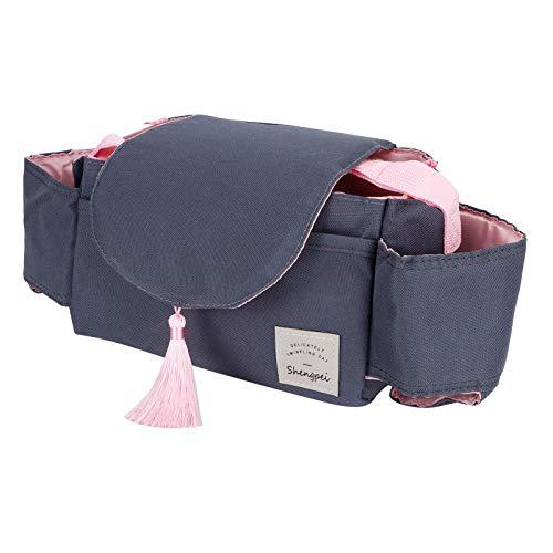 Cochecito De Bebé Ejecución Bolsa Organizador Universal Taza Soporte Bolsa De Almacenamiento Cochecitos Accesorio Pink Tassel Cochecito De Bebé Suministro