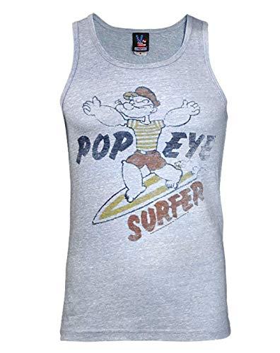 Junk Food Popeye The Sailor Man Surfer Men's Vest