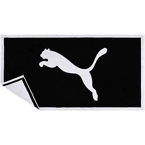 PUMA Handtuch Towel, Puma Black-Puma White, UA, 53377