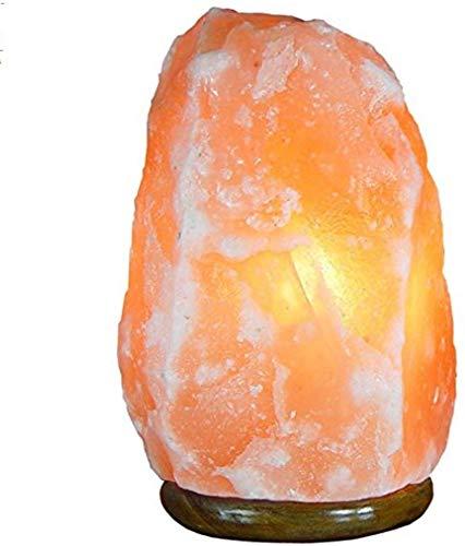 Zout Lamp Himalaya Jie Miljard Natuurlijke Gezondheid Zout Lamp Negatieve Ion Slaapkamer Bed Warm Licht Feng Shui Dimbaar