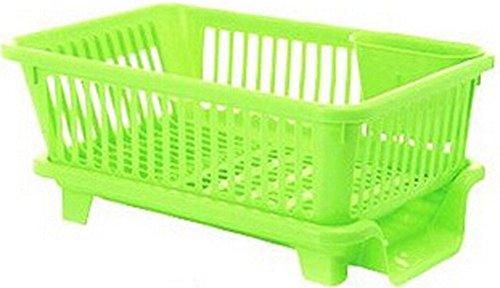 Cuisine égouttoir à vaisselle Grille support de rangement grille d'évier/de côté vert