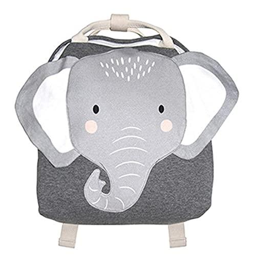 jwj Bolsas escolares Mochila para niños pequeños Mochila escolar para bebés y niños, bolsa de escuela linda bolsa de luz de conejo mariposa león bolsa de hombro (color: elefante 2)
