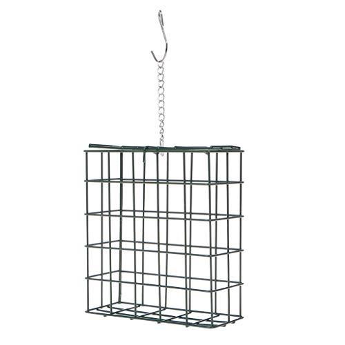 Sac de rangement à suspendre Mangeoire à oiseaux en plein air pour oiseaux sauvages de jardin, parc, arbre, récipient alimentaire, légumes, fruits, cage en maille