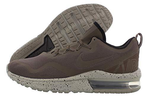 Nike Mens Air Max Fury Reflective Sneakers Running Shoes Gray 9.5 Medium (D)