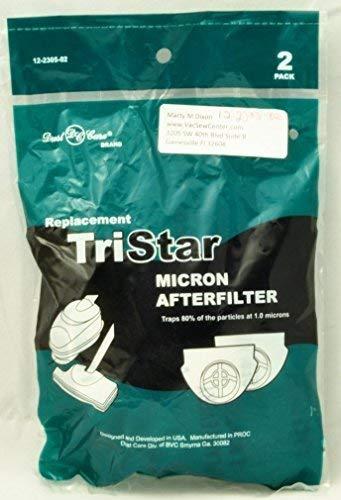 Electric Vac LLC Tristar Aspirador Secundaria después del Filtro (Pack de 3)