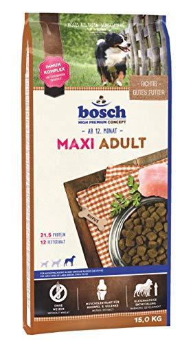 professionnel comparateur Croquettes pour chien adulte Bosch maxi 15kg choix