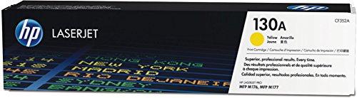 HP CF352A Original Toner (geeignet für HP Color Laserjet Pro M176n, HP Color Laserjet Pro M177fw) gelb