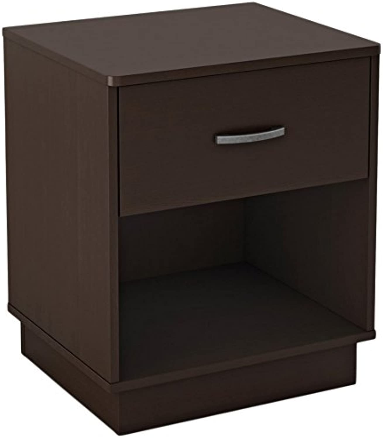 South Shore Furniture Logik Collection, Night Stand, Chocolate