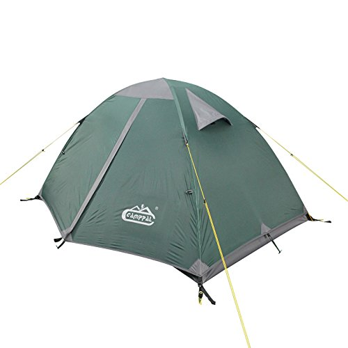 Camping Tent for 3 Person Waterproof Easy Setup Lightweight and Backpacking 4 Season Double Layer Tent
