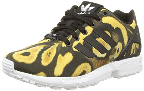 adidas Damen Zx Flux Low-top, Schwarz Core Black Core Black FTWR White, 38 EU