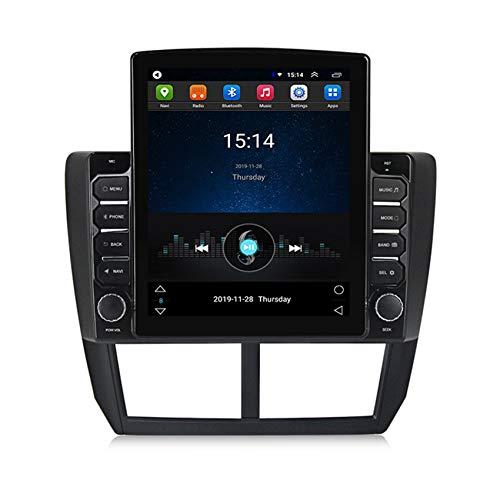 Amimilili Autoradio 2 DIN Radio De Coche Pantalla táctil de 9.7' navegación GPS Admite Bluetooth/WiFi/Cámara de Respaldo/SWC para Subaru Forester 3 2007-2013,4core wif: 2+ 32g+dsp