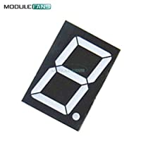 10 Pins 1.8 inch 1 Bit Digit Red Led Display 7 Segment Common Cathode Digital Display Diy Kit Electronic PCB Board Module
